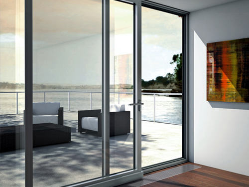 Lift-slide doors are an ideal choice as a building connecting rooms or conservatories with the external environment provide a convenient exit to the ... & Aluprof MB-77HS - Okna Łomża | Oknal - Najwyższej jakości okna i ... Pezcame.Com